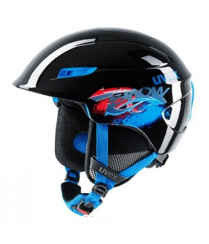 Kask Uvex U-Kid Junior Black Blue
