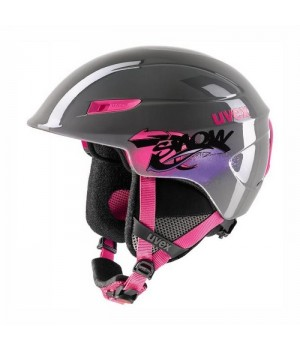 Kask Uvex U-Kid Junior Grey Pink