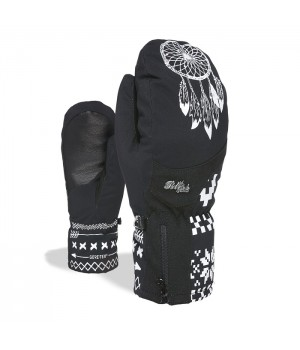 Rękawice LEVEL Bliss Emerald Mitt Gore Tex Black White
